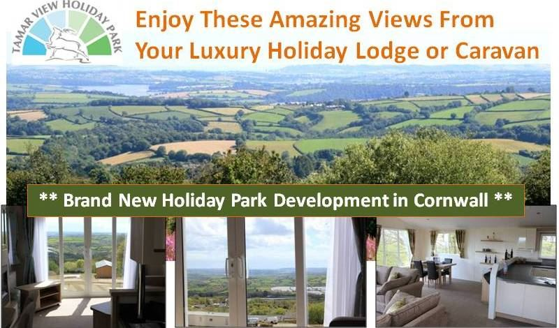Tamar View Holiday Park in Cornwall